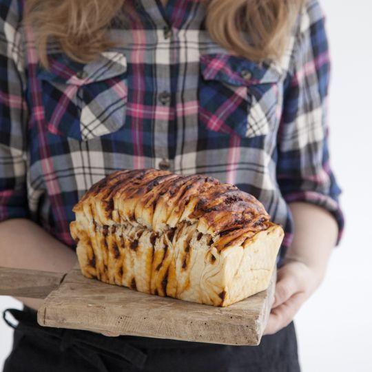 Škoricovo-hrozienkový trhací chlebík   Recepty.sk