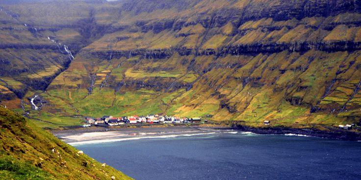 Denmark, Faroe Islands, Streymoy Island, Torshavn Capital City ...
