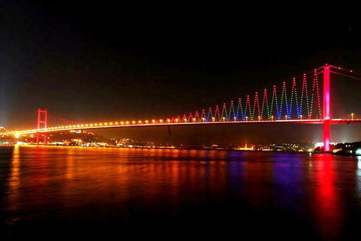 Bosphorus Bridge (Istanbul, Turkey)