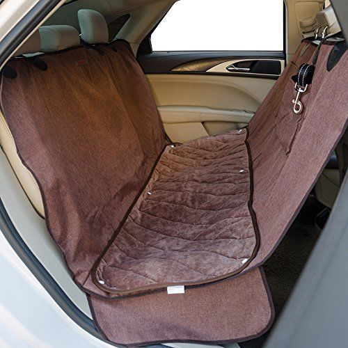 Travel Dog Pet Car Seat Cover Deluxe Quilted Pad Side Protector Backing Hammock  #FURRYBUDDY