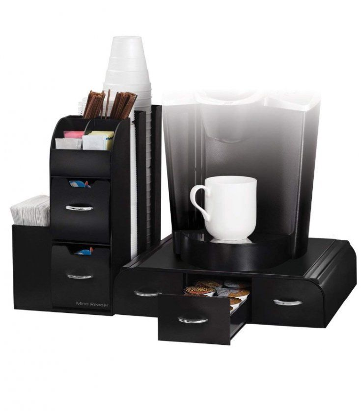 Coffee caddy lifehack kitchen coffee pods drawer