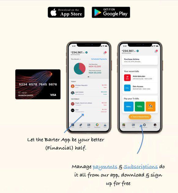 Barter By Flutterwave Personal Finance Management Lifestyle App Personal Finance Lifestyle Apps Finance
