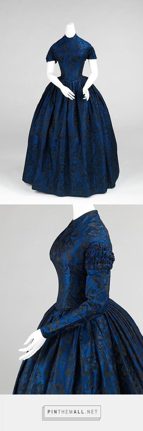 Evening dress 1850-52 American | The Metropolitan Museum of Art