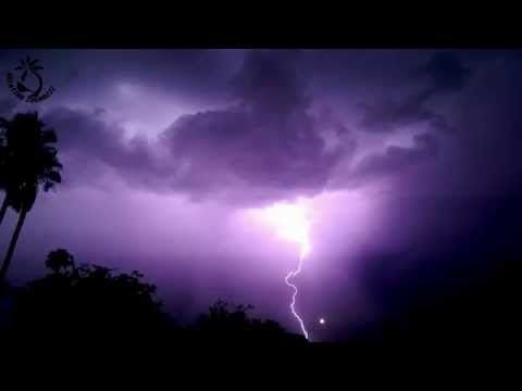 Thunderstorm and Rain Sounds - Heavy Thunder & lightning Strike Ambience For Relaxation - YouTube