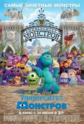 Университет монстров /Monsters University/