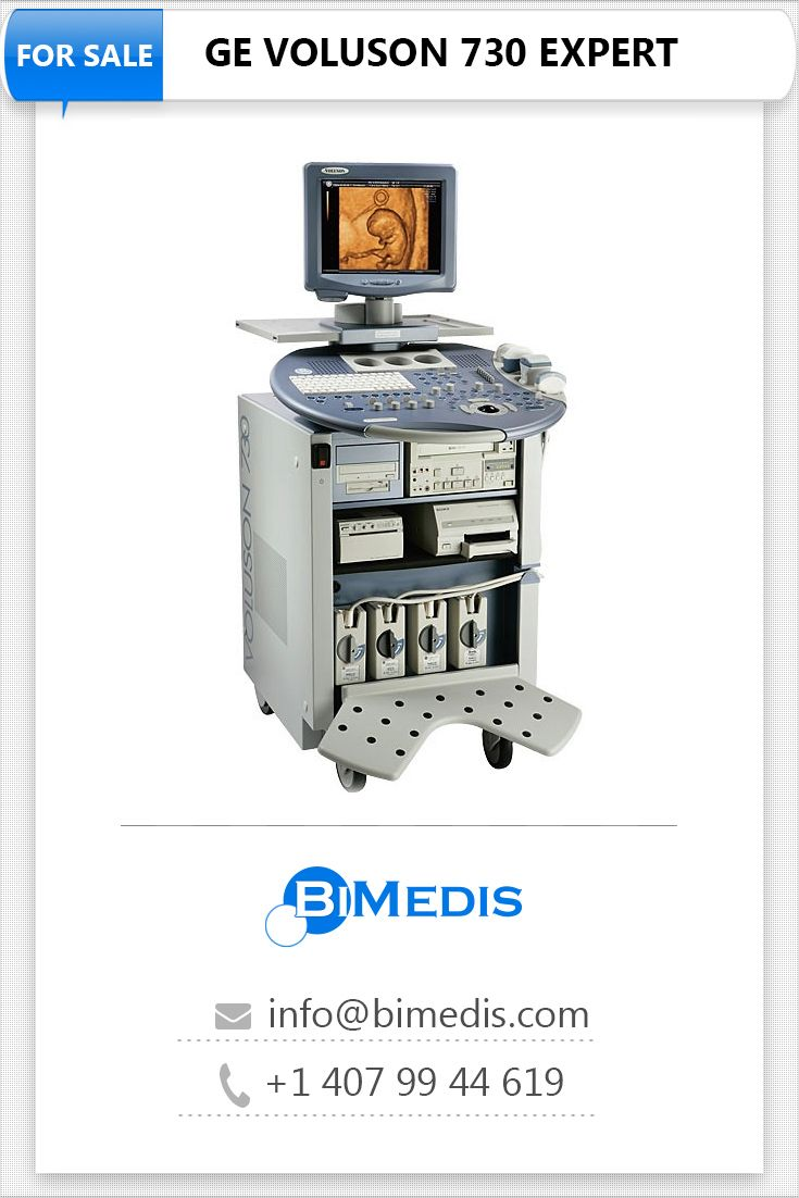 New, refubished and used machines GE VOLUSON 730 EXPERT on BiMedis. Follow  the link to see all offers!