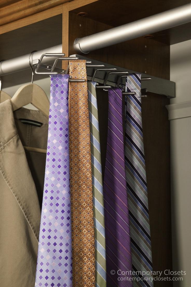203 best tie racks images on Pinterest Tie rack Closet and Closet