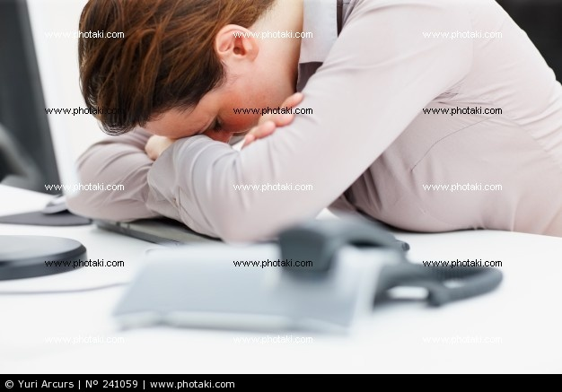 http://www.photaki.com/picture-business-woman-tired-of-break-from-work_241059.htm