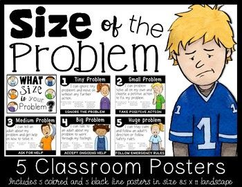 Size of the Problem Posters for Intermediate Grades - FREE FOR A SHORT TIME. ENJOY- please leave a rating and let me know if you like! Check out the Size of the problem bundle