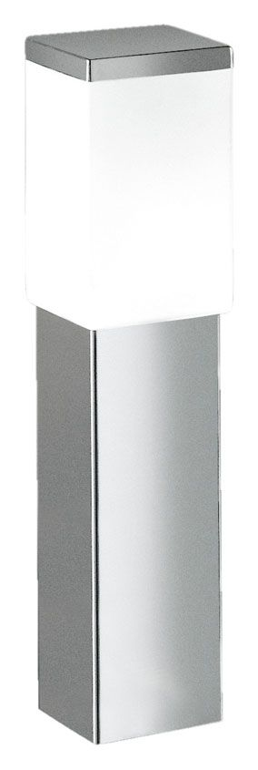 EGLO 86388A Calgary Stainless Steel Finish Outdoor 17 Inch Tall Modern Path Light - EGL-86388A