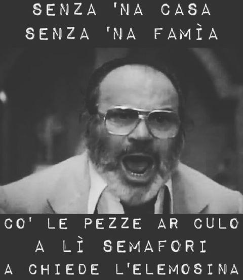 Co' le pezze ar culo #mariobrega #pezze #ar #culo #mood #inspiration #cinema #italiano