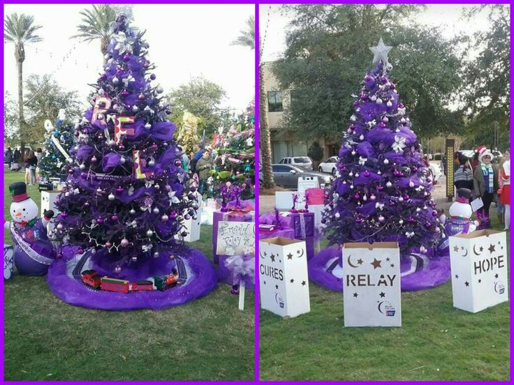 Emerald Coast Relay For Life's Grand Boulevard Festival of Trees 2015 entry! #festivaloftrees #destin #emeraldcoastrelayforlife #ecrfl