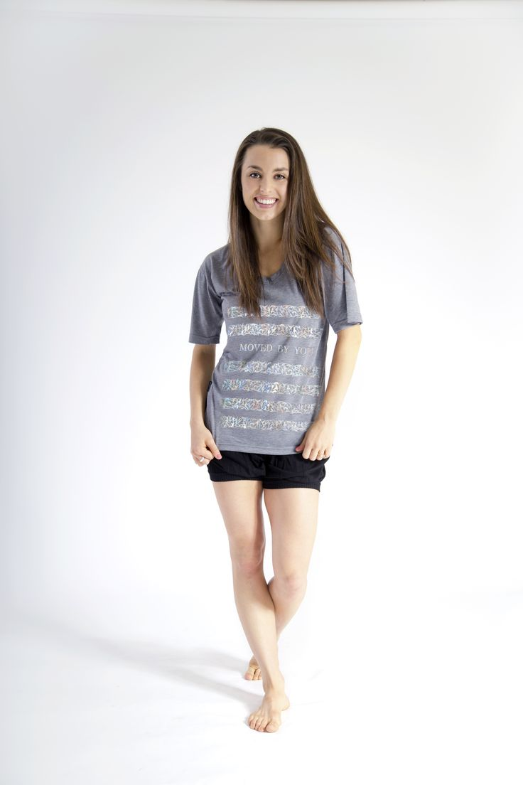 Moved By You - Foil Graphic Tee | Kathryn McCormick Collection | Available at Sugarandbruno.com #dance