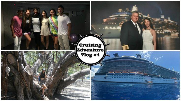 Celebrity Solstice Cruise Ship Holiday Adventure Vlog #4 | CHANTELLE PEL...