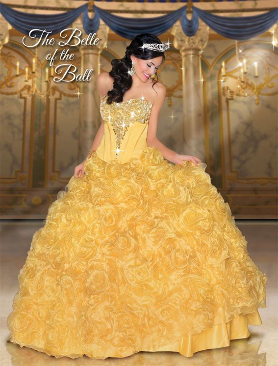 This site designs ball gowns based on Disney princesses!!!!