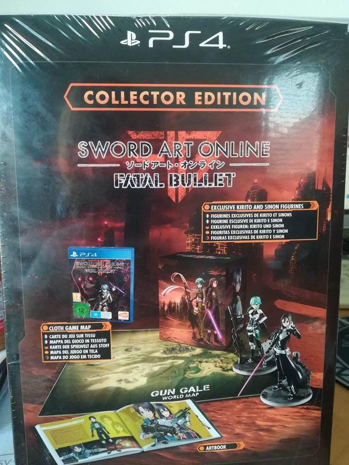 Playstation Karte.Details About New Ps4 Sword Art Online Fatal Bullet Limited Edition