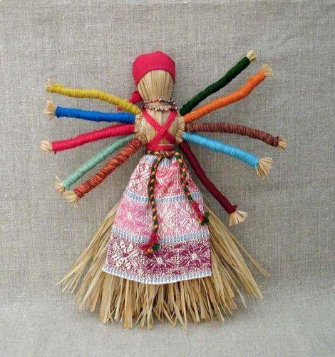Русские обрядовые куклы » Перуница
