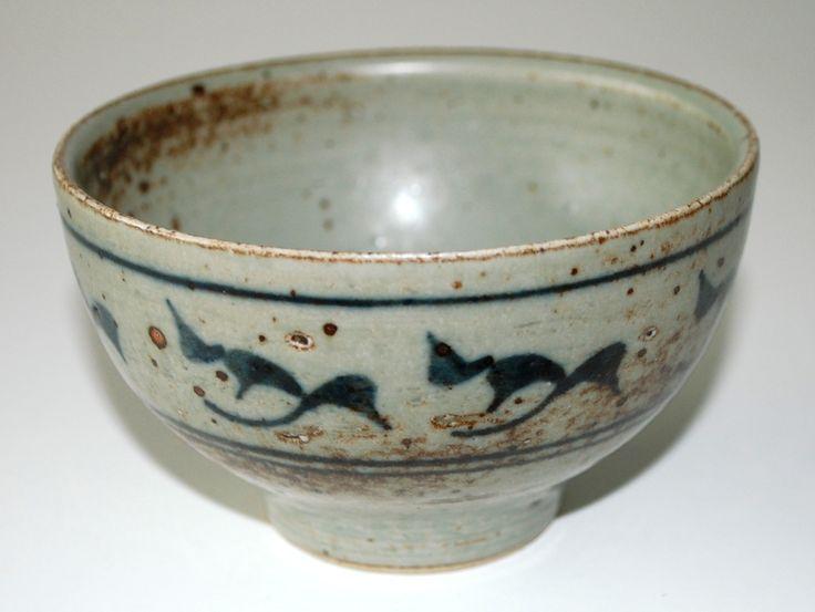 Erik Reiff, Royal Copenhagen. Signed ER 82. Bowl in stoneware. W: 11,5. H: 7 cm.