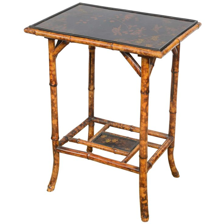 Bamboo Table With Design: 1000+ Images About Antique Bamboo On Pinterest