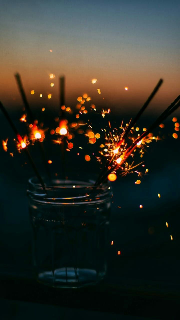 Sparklers Tumblr Photography Aesthetic Iphone Wallpaper