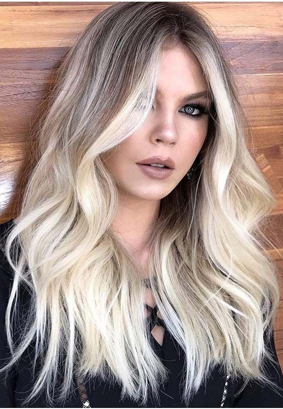 46 Modern Blonde Bombshell Hair Color Styles for 2018
