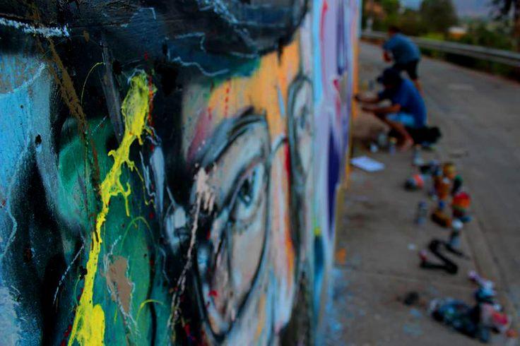 Mural tematica breaking Bad