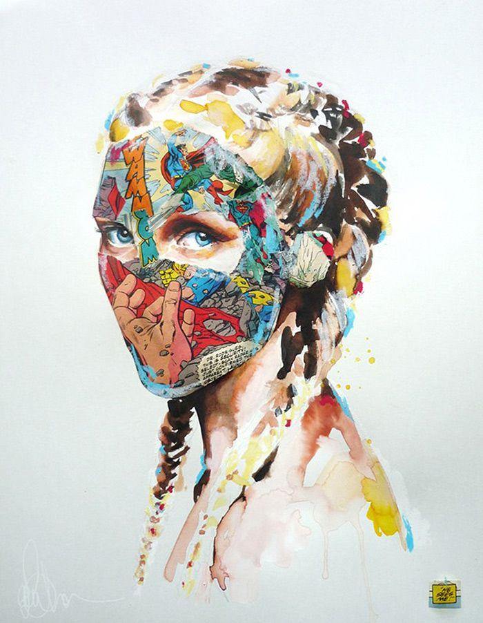 Sandra_chevrier_mixed_media_graphic_pop_art_Trend_11