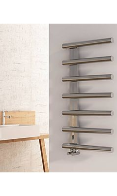 Carisa Ivor Stainless Steel Designer Heated Towel Rail Radiator