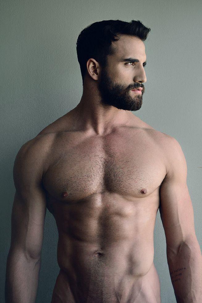 sexy beard men hump