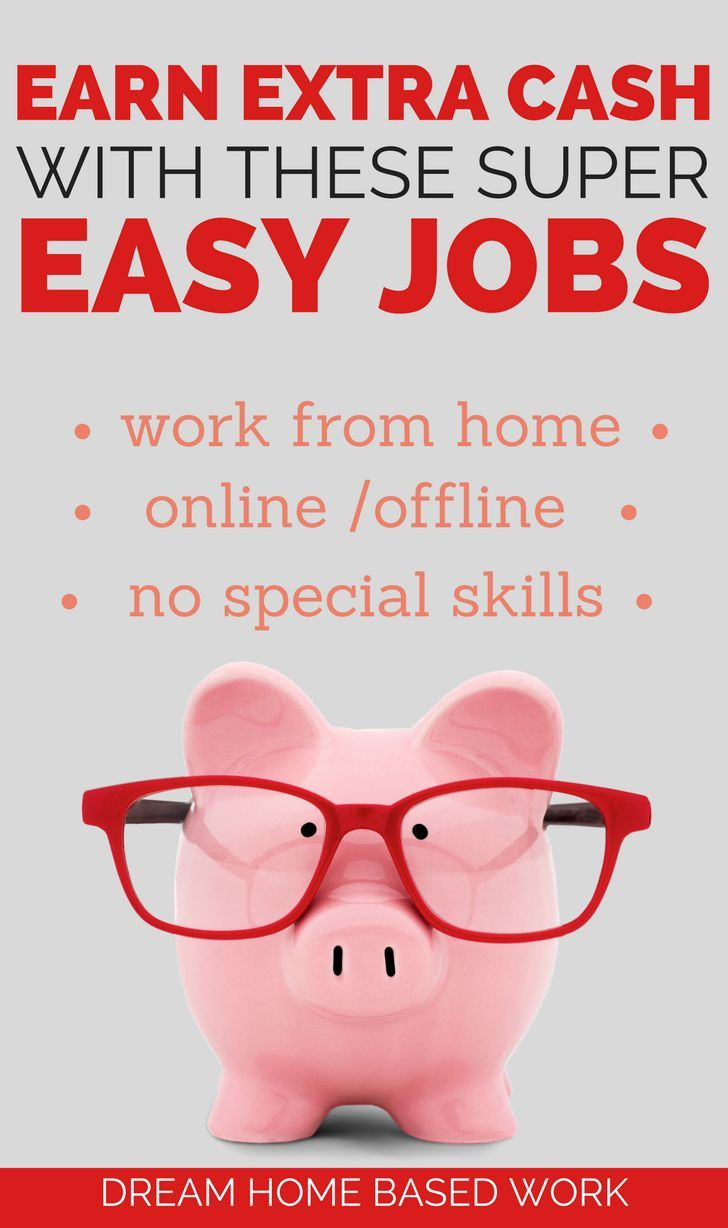 free online jobs work from home earn extra cash with these super easy side jobs best 5260