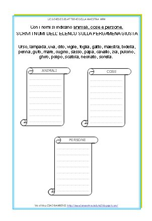 Per aiutare i miei alunni a discriminare i diversi tipi di NOMI, ho realizzato queste schede che, attraverso il gioco, li aiutano a interio...