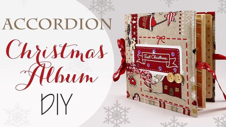 Tuto: Album di Natale a fisarmonica - ENG SUBS Christmas Accordion Album