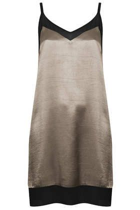 V Front Chiffon Insert Dress - Seasonal Offers  - Sale & Offers