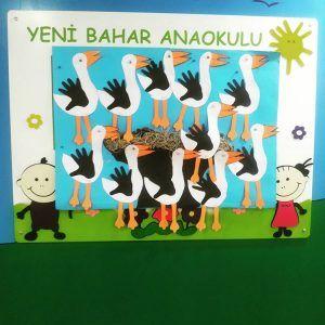 Stork craft idea for kids   Crafts and Worksheets for Preschool,Toddler and Kindergarten