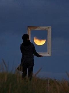 Moon Photography frame