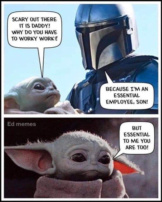 30 Wholesome Things People Said On Social Media Which Seem Cringe Yoda Meme Yoda Funny Yoda