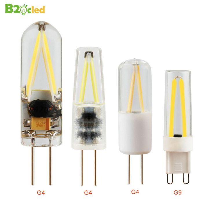 10Pcs G4 G9 LED Lamp AC 200V-240V DC 12V 1.5W 3W COB SMD LED Lighting Lights replace Halogen Spotlight Chandelier Lighting Ball #Affiliate