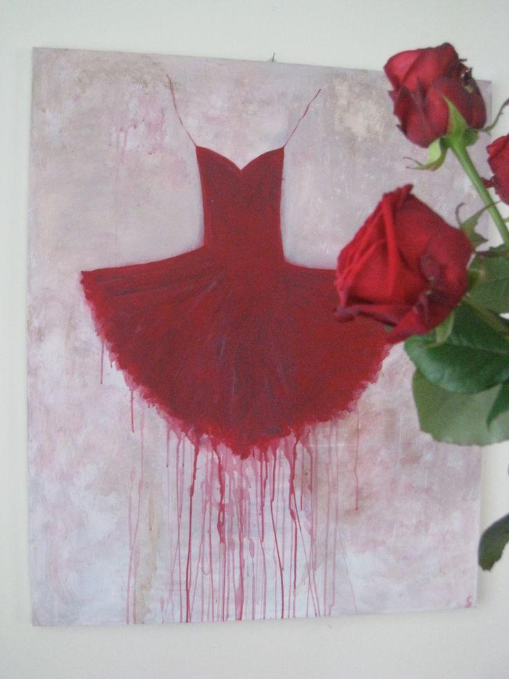 Tutù' rosso e rose rosse