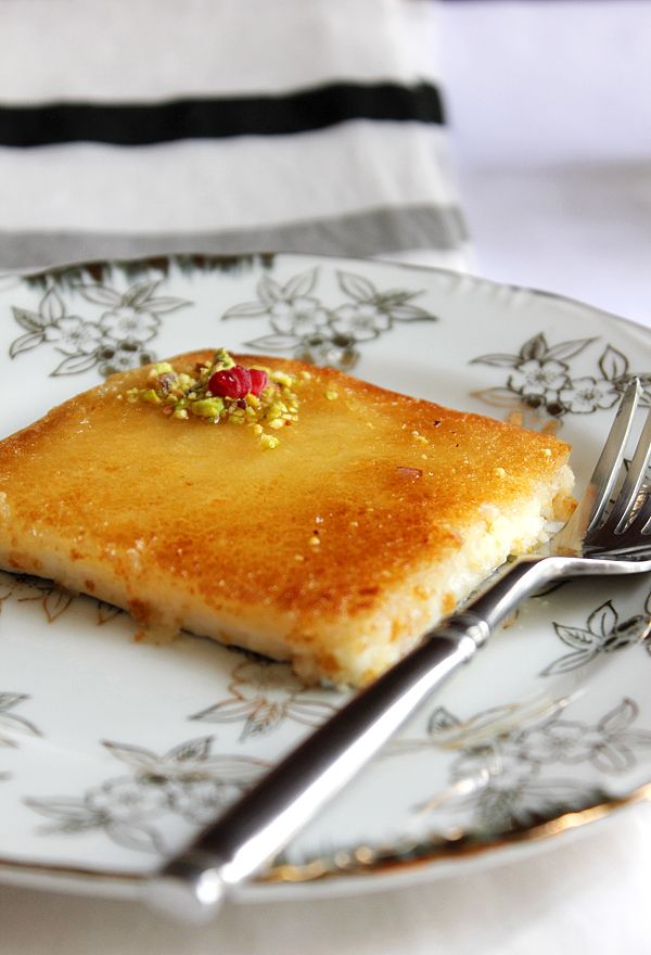 Kunafa is an Arabian dessert, it's a fancy, classy, and a sophisticated delight. Arabs love Kunafa and although Arab men are not so fond of dessert, yet they enjoy this beauty very much!  Kunafa can be filled or layered with sweet cheese or cream, it can be a soft kunafa or very crispy. No matter how it is made, Kunafa pleases everyone.  Arab men tend to compare beautiful women to Kunafa, and the reason behind it is that Kunafa represents everything which can be found in an attractive women…