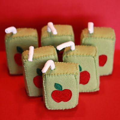 Apple Juice Boxes how stinking cute are these?!
