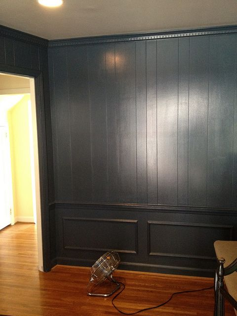 17 best ideas about painted wall paneling on pinterest
