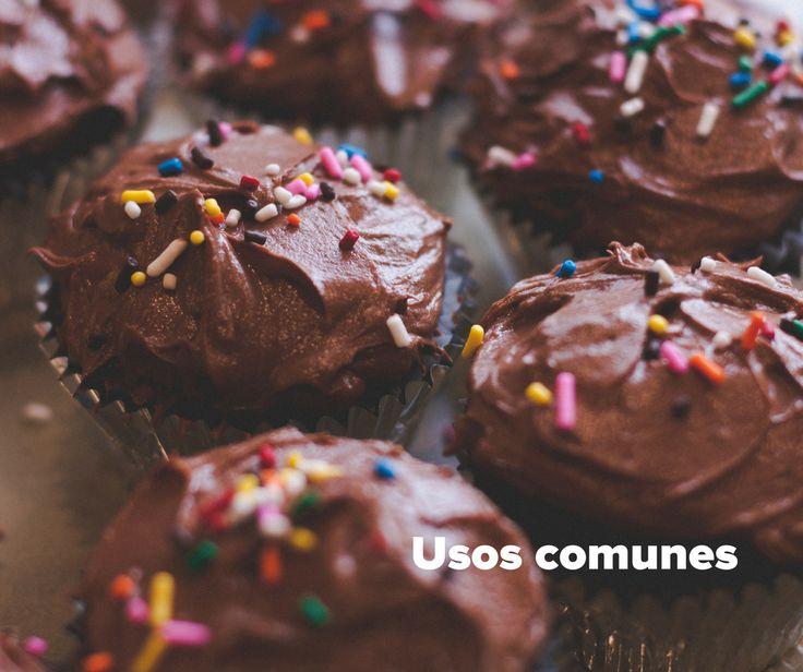 Usos comunes de chocolate