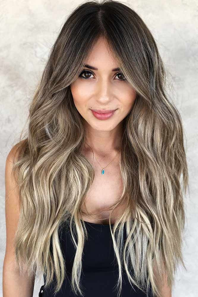 29 Trendy Choices for Brown Hair with Highlights | Brown ...