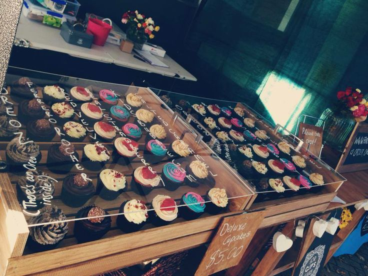 Our Cupcake Market Stand - For Cup's Cake New Zealand. http://www.forcupscake.co.nz