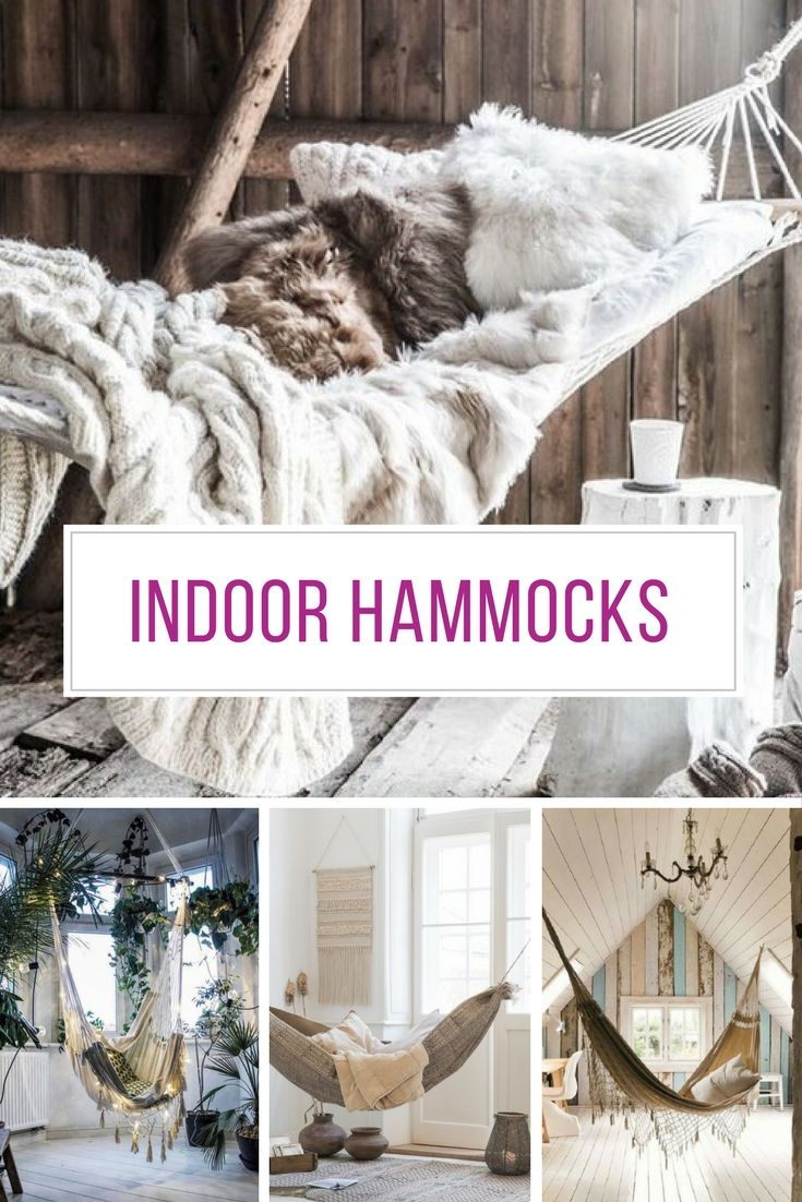 All the indoor hammocks.