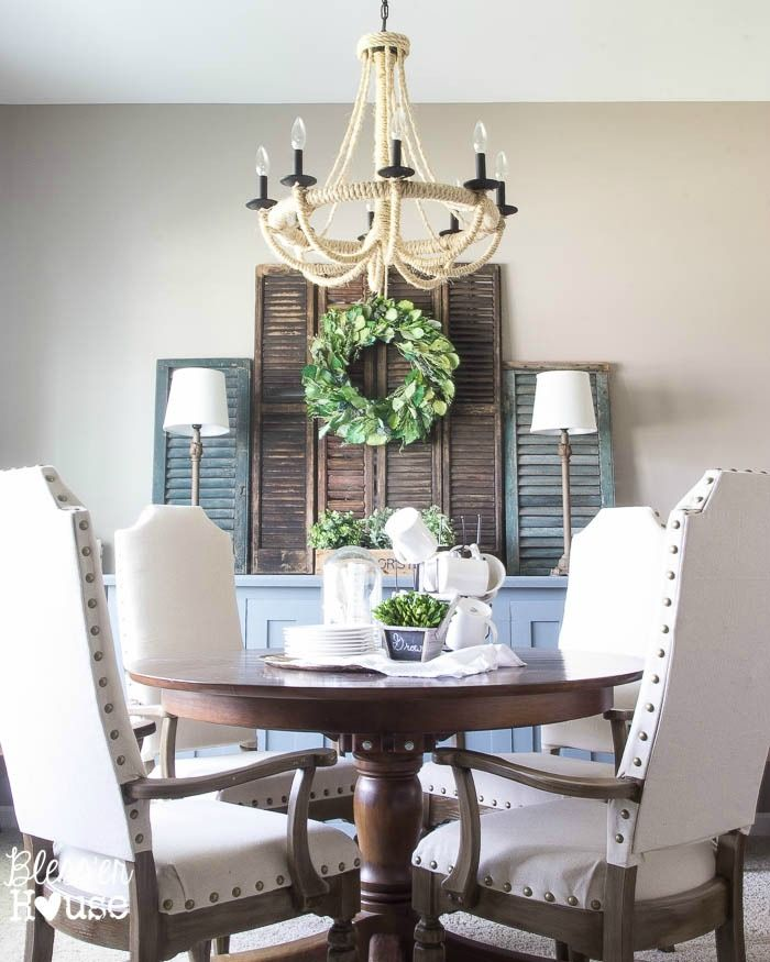 Simple Dining Room Design: One Simple Decor Trick To Bring A Room To Life