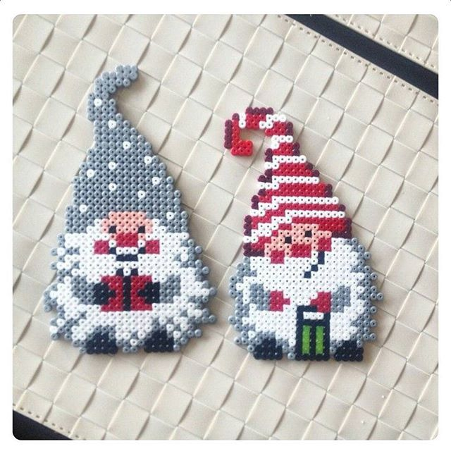 Christmas hama beads by the.females