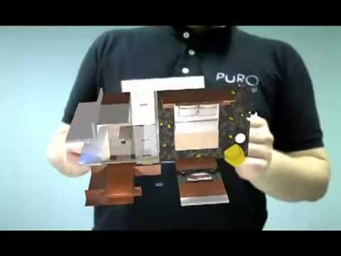 Virtual showroom - augmented reality for PURO Hotel