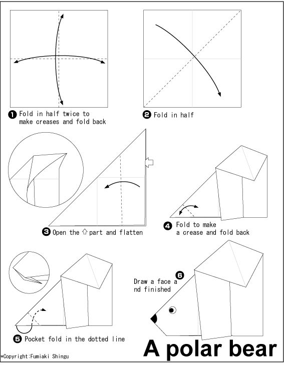33 best images about Origami dieren on Pinterest | A snake ... - photo#5