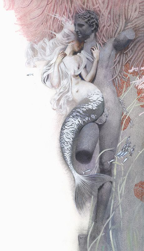 Nadezhda Illarionova, Fairy Tales: Hans Christian Andersen. The Little Mermaid's fascination with the two-legs is portrayed in a very sensual fashion.